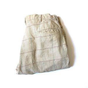 Vintage Polo Ralph Lauren plaid pants 32